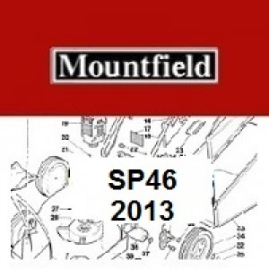 Mountfield SP46 Spares Parts Diagrams SP 46 SP 2013