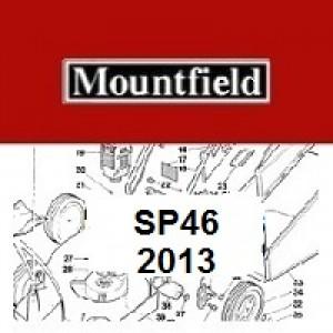 Mountfield SP46 Spares Parts Diagrams SP 46 SP 2013