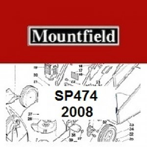 Mountfield SP474SP Spares Parts Diagrams SP 474 SP 2008