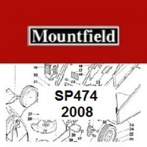 Mountfield SP474SP Spares Parts Diagrams SP 474 SP 2008