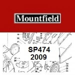 Mountfield SP474 Spares Parts Diagrams SP 474 SP 2009