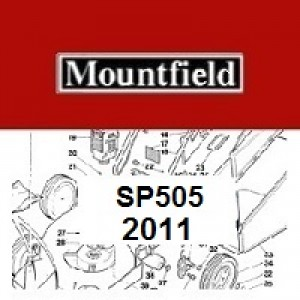 Mountfield SP505 Spares Parts Diagrams SP 505 SP 2011