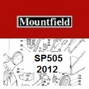 Mountfield SP505 Spares Parts Diagrams SP 505 SP 2012