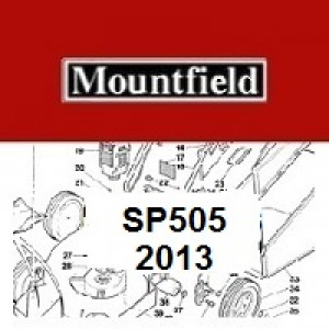Mountfield SP505 Spares Parts Diagrams SP 505 SP 2013