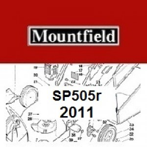 Mountfield SP505R Spares Parts Diagrams SP 505R SP 2011