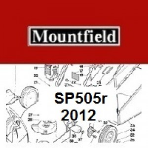 Mountfield SP505R Spares Parts Diagrams SP 505R SP 2012