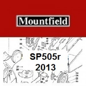 Mountfield SP505R Spares Parts Diagrams SP 505R SP 2013