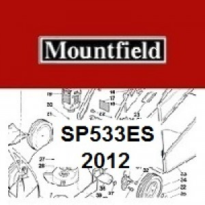Mountfield SP533ES Spares Parts Diagrams SP 533ES SP 2012