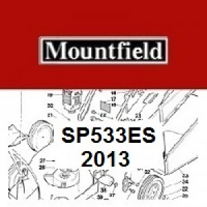 Mountfield SP533ES Spares Parts Diagrams SP 533ES SP 2013