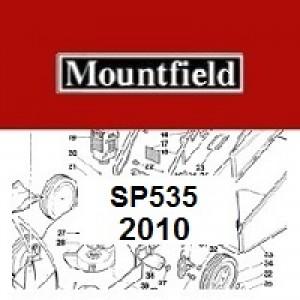 Mountfield SP535 Spares Parts Diagrams SP 535 SP  2010