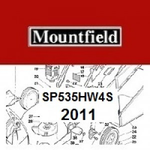 Mountfield SP535HW4S Spares Parts Diagrams SP 535HW4S 2011
