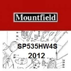 Mountfield SP535HW4S Spares Parts Diagrams SP535HW4S 2012