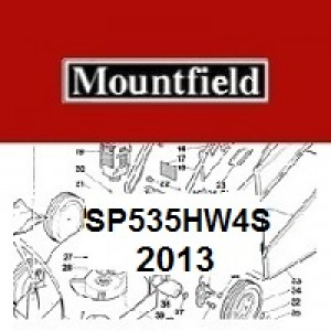 Mountfield SP535HW4S Spares Parts Diagrams SP 535 HW 4S 2013