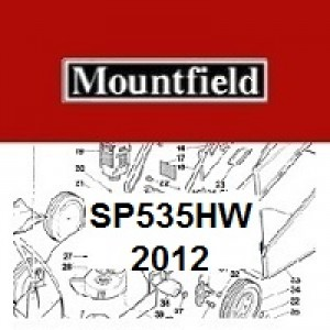 Mountfield SP535HW Spares Parts Diagrams SP535HW 2012