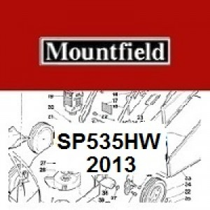 Mountfield SP535HW Spares Parts Diagrams SP 535 HW 2013