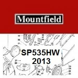 Mountfield SP535HW Spares Parts Diagrams SP 535 HW 2013