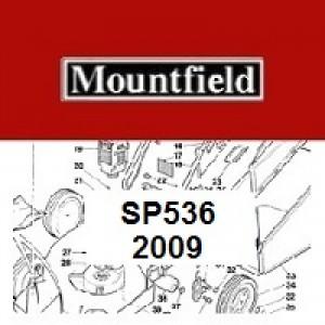 Mountfield SP536 Spares Parts Diagrams SP 536 SP 2009