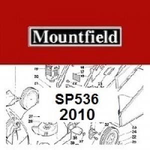 Mountfield SP536 Spares Parts Diagrams SP 536 2010