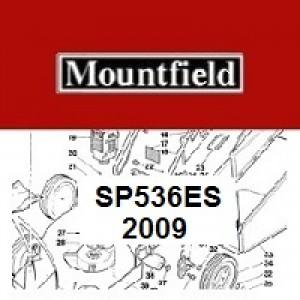 Mountfield SP536ES Spares Parts Diagrams SP 536 ES 2009