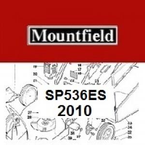 Mountfield SP536ES Spares Parts Diagrams SP 536 ES  2010