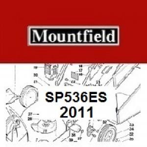 Mountfield SP536ES Spares Parts Diagrams SP 536 ES 2011