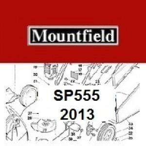 Mountfield SP555 Spares Parts Diagrams SP 555 2013