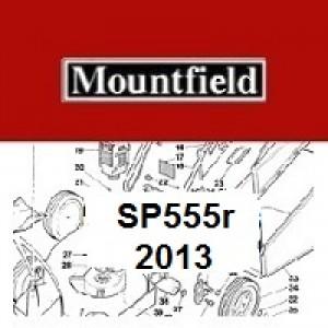 Mountfield SP555R Spares Parts Diagrams SP 555R 2013