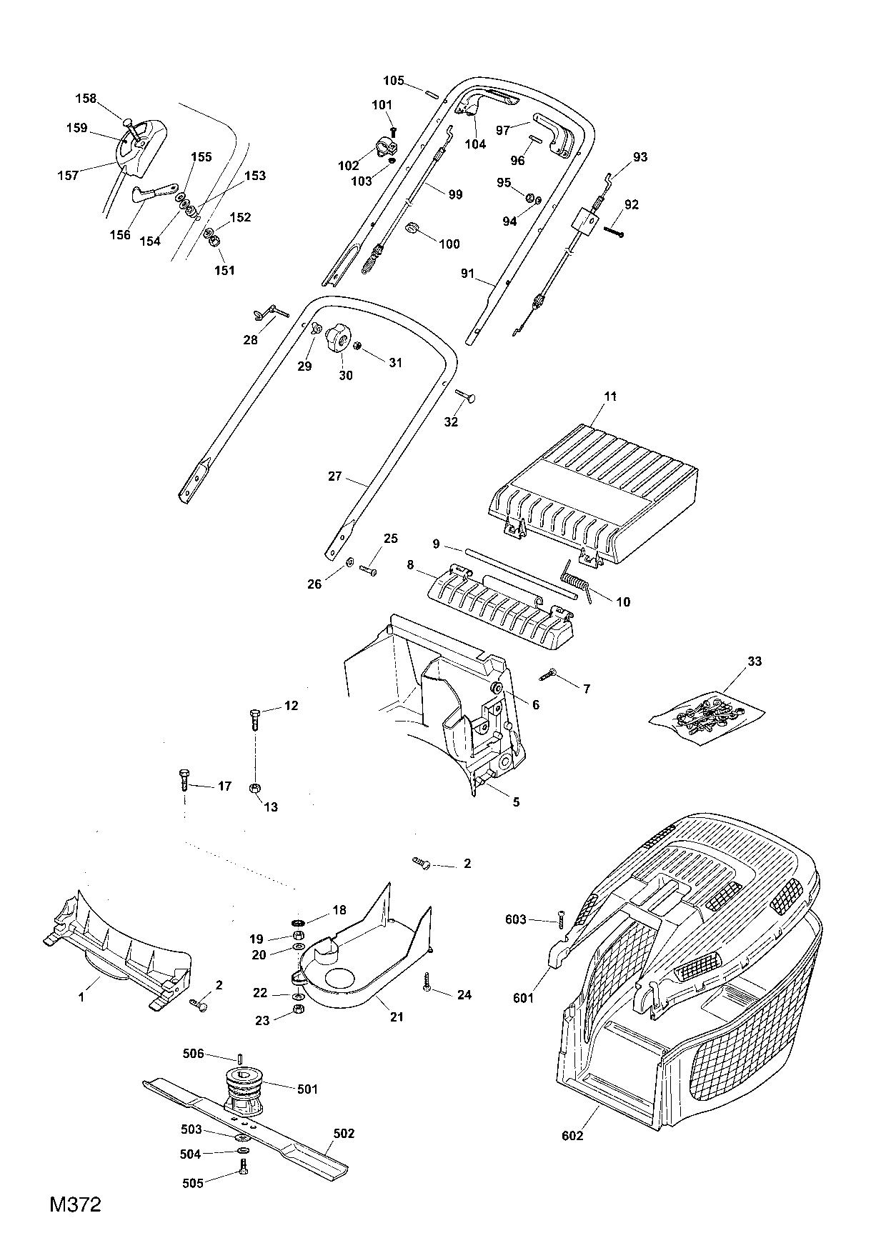 mountfield multiclip 50 2007 spare parts diagrams spares and spare parts