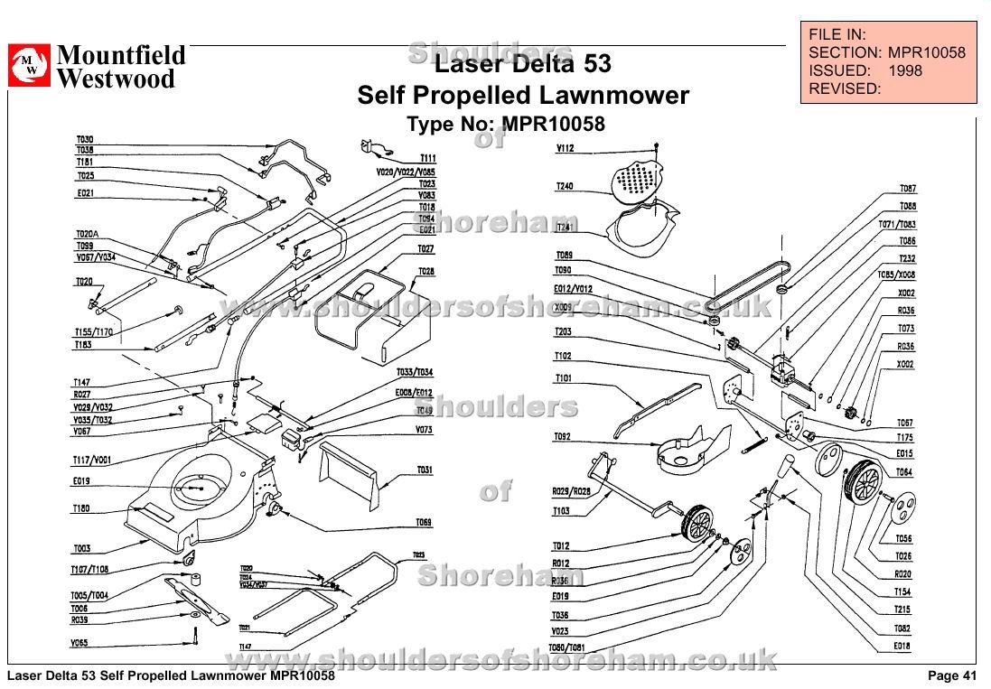 mpr10058 mountfield laser delta 53cm machine diagram for
